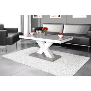 Konferenční stolek XENON MINI Barva: šedá/bílá/šedá