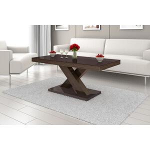 Konferenční stolek XENON MINI Barva: hnědá/dub hnědý/hnědá