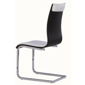 Signal H-133 jídelní židle Barva: Bílá / černá