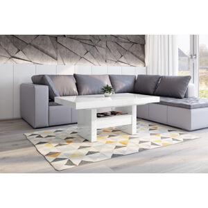 Konferenční stolek AVERSA LUX Barva: Bílá