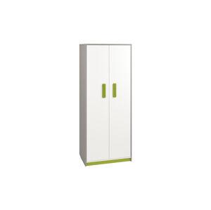 Šatní skříň IQ 02 Barva nábytku: Zelená