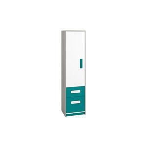 Skříňka IQ 05 Barva nábytku: Modro/zelená