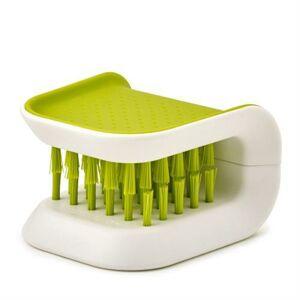 JOSEPH JOSEPH BladeBrush™ kartáč na nože a příbory Barva: Zelená