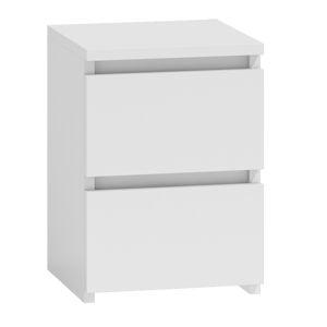 Noční stolek PUNA P2 Provedení: Bílá
