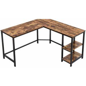 Počítačový stůl rohový industriální 138x138 cm