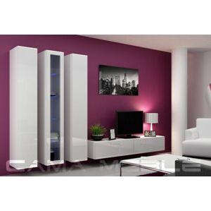 Obývací stěna VIGO 2 Barva: Bílá