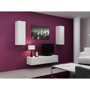 Obývací stěna VIGO 7 Barva: Bílá