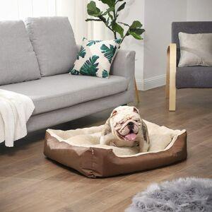 Pelíšek pro psa, 70cm, světle hnědý