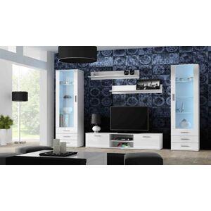 Obývací stěna SOHO 4 Barva: Bílá, Délka TV stolku: 180cm