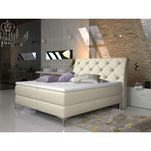 Čalouněná postel ADEL Boxsprings 180 x 200 cm Provedení: Soft 33