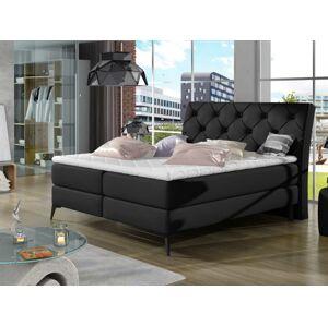 Čalouněná postel LAOS Boxsprings 140 x 200 cm Provedení: Soft 11