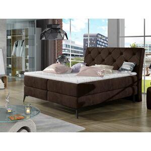 Čalouněná postel LAOS Boxsprings 160 x 200 cm Provedení: Kronos 06