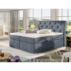 Čalouněná postel BALVIN Boxsprings 160 x 200 cm Provedení: Omega 86