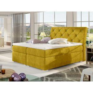 Čalouněná postel BALVIN Boxsprings 180 x 200 cm Provedení: Omega 68