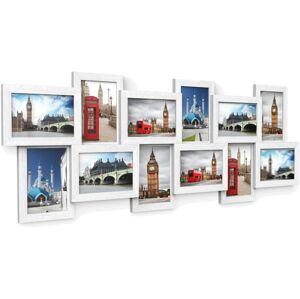 Fotorámečky bílé 10x15 12 ks