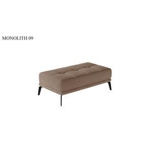 Taburet TORENSE, 137 x 70 x 45 cm Provedení: Monolith 09