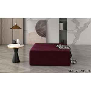 Taburet KELIM, 83 x 42 x 2 cm Provedení: Mat Velvet 68