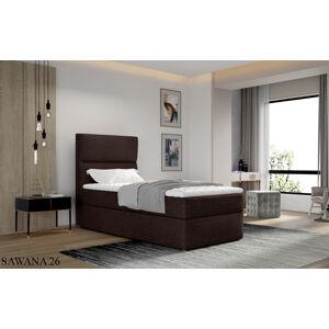 Čalouněná postel ARCO Boxsprings 90 x 200 cm Provedení: Sawana 26