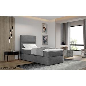 Čalouněná postel ARCO Boxsprings 90 x 200 cm Provedení: Sawana 05