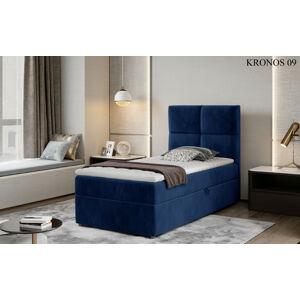 Čalouněná postel RIVIA Boxsprings 90 x 200 cm Provedení: Kronos 09