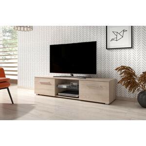Televizní stolek MOON 140 dub sonoma 2K