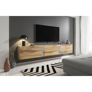 Televizní stolek Slant 240 dub wotan