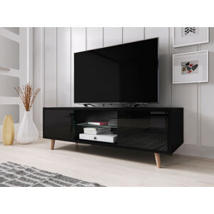 Televizní stolek Sweden černý
