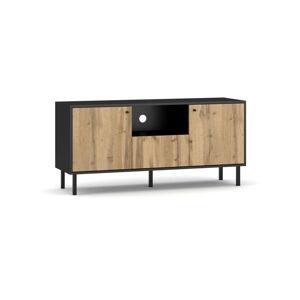 Televizní stolek BOSPE černý/wotan