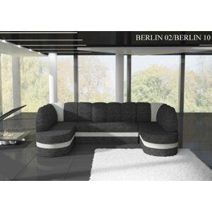 Rohová sedací souprava KAREN Provedení: Berlin 02 + Berlin 10