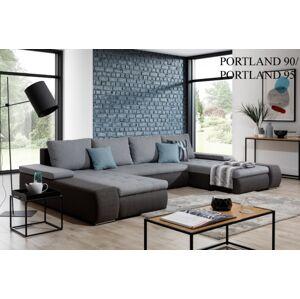 Rohová sedací souprava MARINO Provedení: Portland 90 + Portland 95