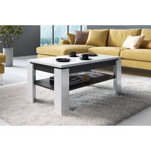 Konferenční stolek Toro Barva: bílý/grafit
