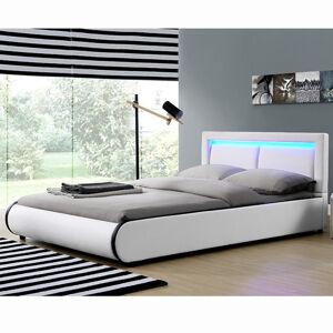 """Čalouněná postel,, Murcia """"140 x 200 cm - bílá"""