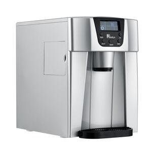 přístroj na výrobu ledu PIM200L ve stříbrné barvě