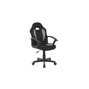 Kancelářská židle Q-101 černá/šedá