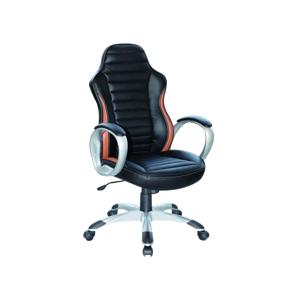 Kancelářská židle Q-112 černá/hnědá